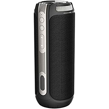 20W 15 Hours Super Loud Bluetooth Speakers, TaoTronics 360 Degree Surround Sound Wireless Portable Speaker ( Dual 10W Drivers, Volume & Track Control, Built-in Microphone, Hands-free Phone Calls)