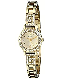 Guess Women's U0411L2 Gold Stainless-Steel Quartz Watch with Gold Dial