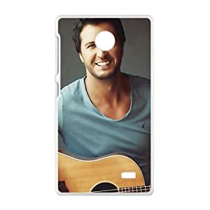 Approachable guitar prince Luke Bryan Cell Phone Case for Nokia Lumia X