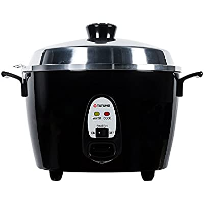 Click for Tatung TAC-10GS-BL 10 Cup Multi-Functional Aluminum Rice Cooker, Black
