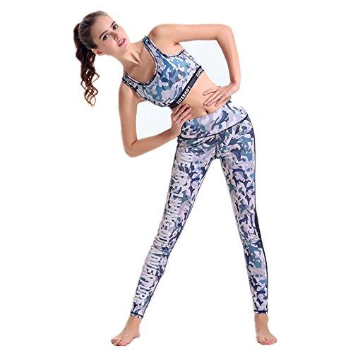 ZHLONG Coreano yo slim Kit de Yoga Camo 1