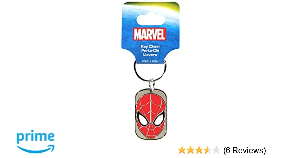 Plasticolor 004362R01 Marvel Spiderman Metal Keychain