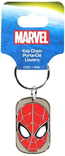 - Plasticolor 004362R01 Marvel 'Spiderman' Metal Keychain