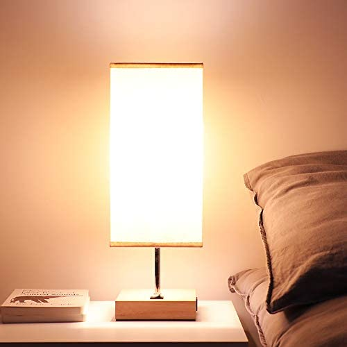 Bedside Nightstand Bedroom Minimalist Lampshade product image
