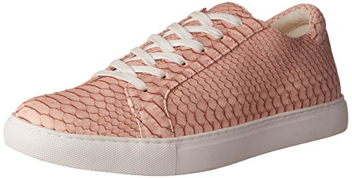 Kenneth Cole REACTION Women's Kam-Era Fashion Sneaker, Blush/Embossed, 8.5 M US
