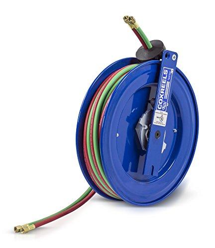Welding Hose Series Reel (Coxreels SR17W-150 Side Mount Spring Rewind  Welding  Reel  Oxygen-Acetylene Dual Hose: 1/4