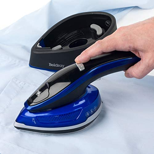 Beldray BEL0916 Duo Steam Pro 2-in-1 Handheld Garment Steamer | Lightweight | for Home and Travel | LED Display | 150 ml | 1200 W
