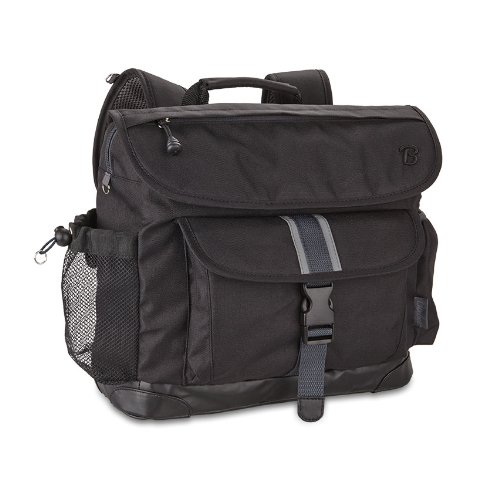 Bixbee Signature Backpack, Black, Medium