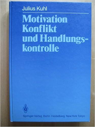 Download epubbøger til ipad Motivation, Konflikt und Handlungskontrolle (German Edition) 3540124233 in Danish PDF