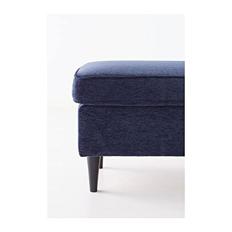 Admirable Ikea Strandmon Footstool Vellinge Dark Blue Blue Amazon Theyellowbook Wood Chair Design Ideas Theyellowbookinfo