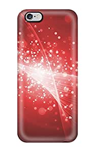 New Style Tpu 6 Plus Protective Case Cover/ Iphone Case - Abstract Red