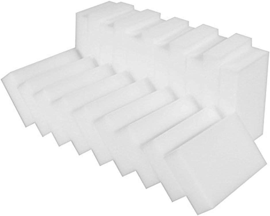 /Éponge gomme magique 100Pcs Elles sont id/éales pour enlever les traces de rayures tenaces des chaussures,et pour graisser les taches des comptoirs et les coins sales pour cuisine domestique