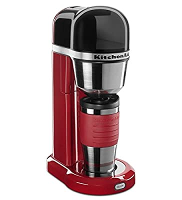KitchenAid Personal Coffee Maker Machine R-KCM0402 One-Touch Brewing Silver CU from KitchenAid Personal Coffee Maker Machine R-KCM0402 One-Touch Brewing Silver CU