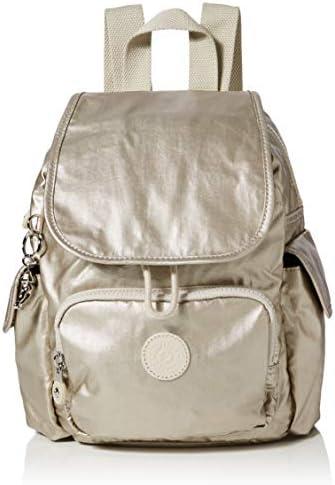Kipling - City Pack Mini, Mochilas Mujer, Dorado (Cloud Metal), 27x29x14 cm (B x H T): Amazon.es: Zapatos y complementos