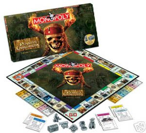 Usaopoly Pirates Of The Caribbean Collector's Edition Monopoly for $<!---->