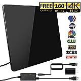 [2019 Newest] HD Antenna,HD Digital Indoor TV Antenna Version, 160+ Miles Range HDTV Antenna with...
