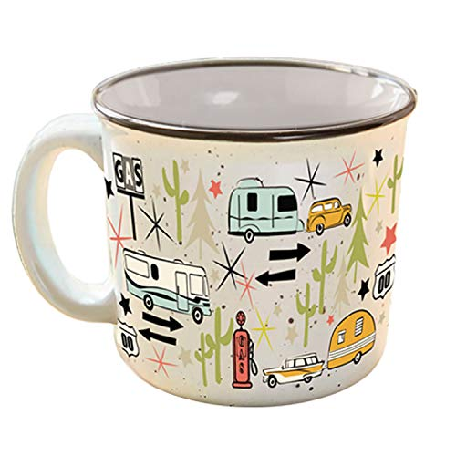 Camp Casual CC-004W Mug (Wanderlust White),1 Per Pack