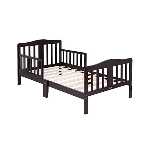 Bonnlo Contemporary Wooden Toddler/Kid Bed Frame Kids Bedroom Furniture 1
