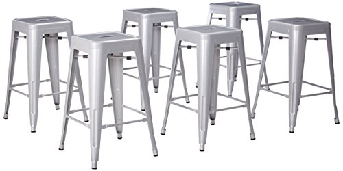 Belleze 26 inch Counter Stools Stackable