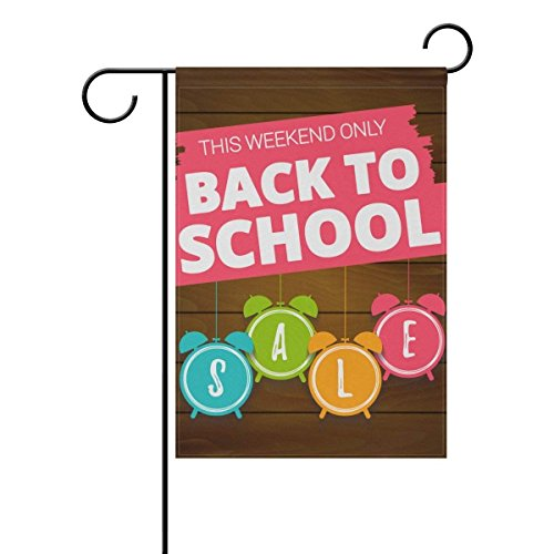 U LIFE Welcome Hello Back To School Season Garden Yard Flag