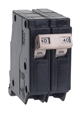 Cutler Hammer CH240 Circuit Breaker, 2-Pole 40-Amp for