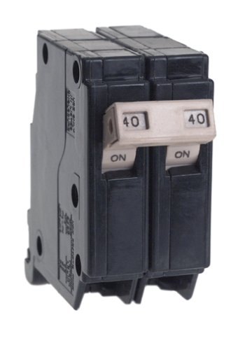 Cutler Hammer CH240 Circuit Breaker, 2-Pole 40-Amp from Connecticut Electric