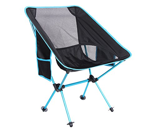 iHOMEARD Durable Folding Chair Stool Canvas Chairs Steel Frame Portable Foldable Chair Indoor Outdoor Picnic Fishing Dining Camp Small Folding up