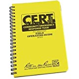 Rite in the Rain CERT Field Operating Guide, 7'' x 4 5?8'' By Tabletop King