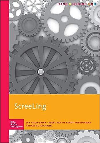 ScreeLing: handleiding: Amazon.es: Evy Visch-Brink, M. van ...
