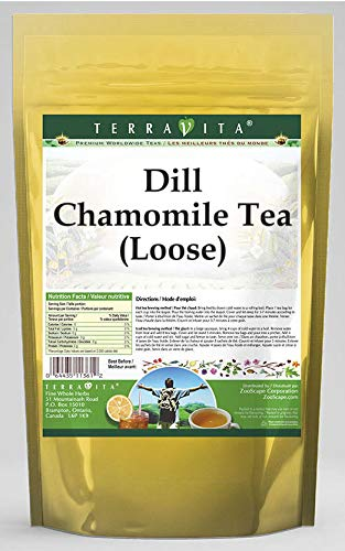 Dill Chamomile Tea (Loose) (8 oz, ZIN: 532429) - 2 Pack by TerraVita (Image #1)