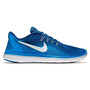 Nike Performance FLEX CONTROL II - Sports shoes - black/gym blue/white