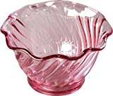 Thunder Group Purple 5 oz Plastic Dessert Dish