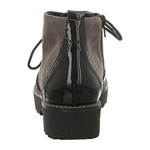 Schwarz Donne 45 45 Gris Delle Biker R0570 Boots Remonte Grau q7TwXPTY