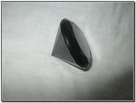 Jet International Cristal de ágata negra de grado superior Diamante pránico Piedra preciosa Desintegrador Limpieza Divino Espiritual Reiki Sanación Psíquico Metafísico Esotérico