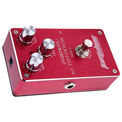 Sala-Fnt - Aroma AOD-1 Electric Guitar Bass Overdrive Distortion Effect Pedal True Bypass