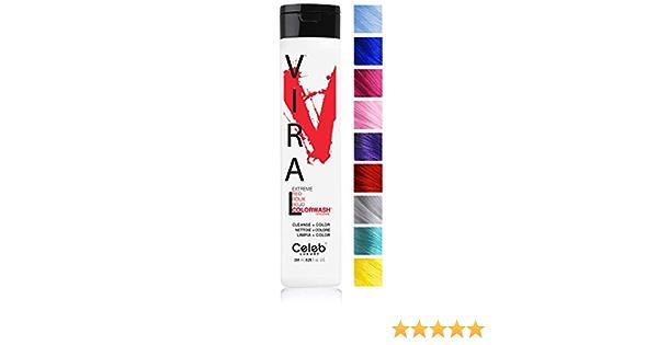 Celeb Viral Extreme Red - Tinte (244 ml), color rojo