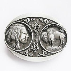 3 Buffalo Coins - 5