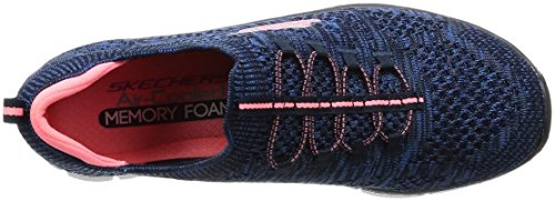Slip 5 Skechers Blau On 12418 pink NVPK Sneaker 35 Empire EU Navy Damen I6qZO