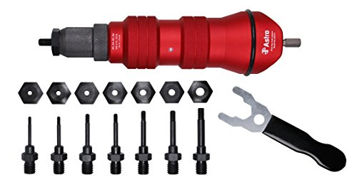 (Astro Pneumatic Tool ADN14 Rivet Nut Drill Adapter Kit)