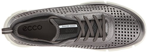 Ecco Damen Intrinsic 1 Sneakers Grau (59222DARK SHADOW METALLIC)
