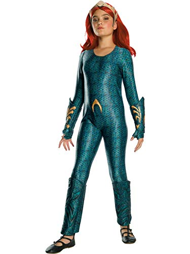 (Rubie's Girls Aquaman Movie Child's Deluxe Mera Costume,)