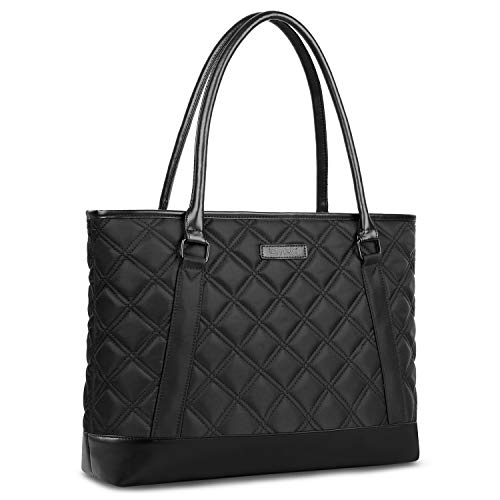 - Laptop Tote Bag, DTBG 15.6 Inch Nylon Classic Diamond Pattern Travel Business Computer Shoulder Bag Carrying Briefcase Handbag For 15 - 15.6 Inch Laptop / Notebook / MacBook / Ultrabook /Tablet,Black