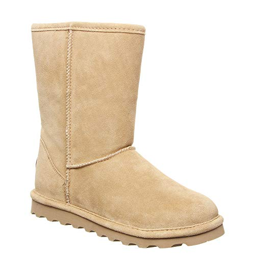 BEARPAW Elle Short Women's Boot 8 B(M) US Sand