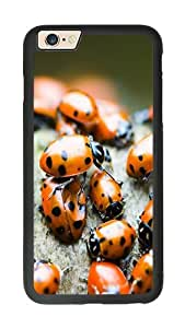 iPhone 6 Case, Ladybugs Slim & Flexible Silicone TPU Skin Cover For iPhone 6