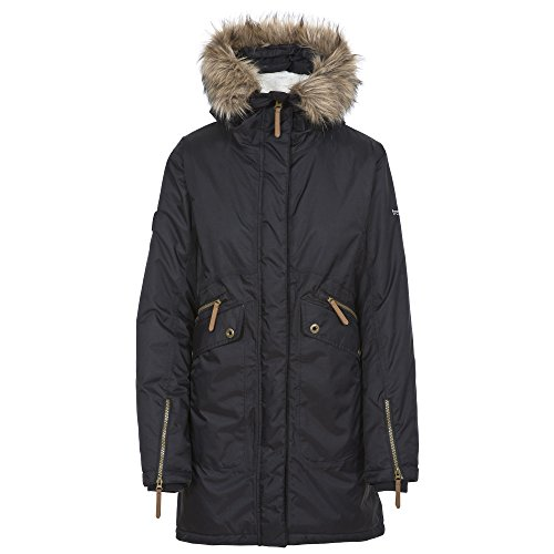 Donna Parka Eternally Impermeabile Nero Trespass dqt55
