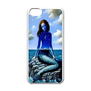 James-Bagg Phone case Mermaid And Ocean For Iphone 5c Style-14