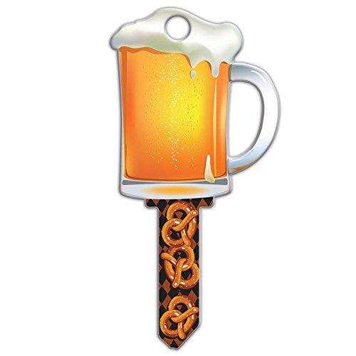 Lucky Line Key Shapes, Beer Mug, House Key Blank, WR5, 1 Key (B110W)