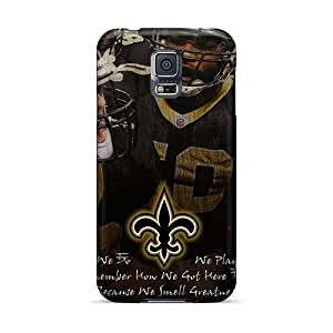 Best Hard Phone Cases For Samsung Galaxy S5 (BQW18307EgCT) Support Personal Customs Trendy New Orleans Saints Pattern