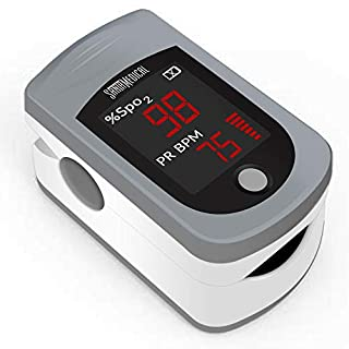 Santamedical Fingertip Pulse Oximeter, SPO2 Blood Oxygen Saturation Monitor