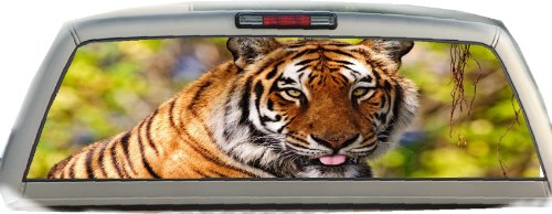 (Tiger- 22 Inches-by-65 Inches- Rear Window Graphics)